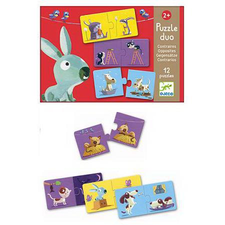Puzzles Educativo Opuestos