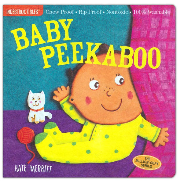 Libro Indestructibles: Baby Peekaboo