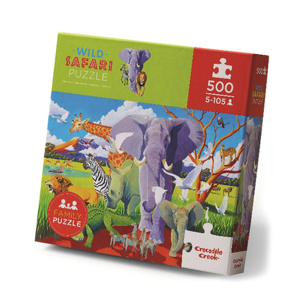 Puzzle Wild Safari 500 pcs