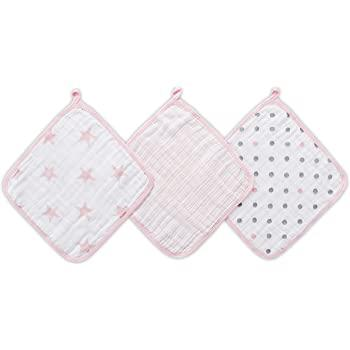 Pack  de 3 Tutos Muselina Rosa