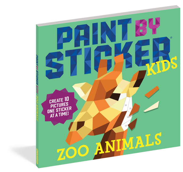 Paint by Stickers Animales