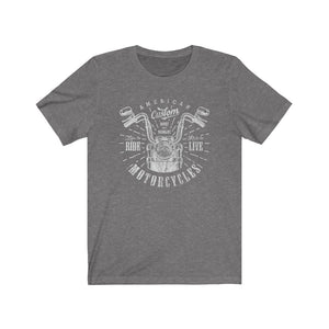 Custom Motorcycles II - Men's Jersey Short Sleeve Tee