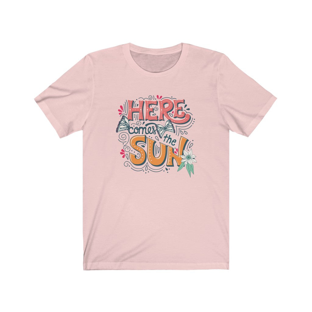 Here Comes The Sun - Women's Jersey Short Sleeve Tee
