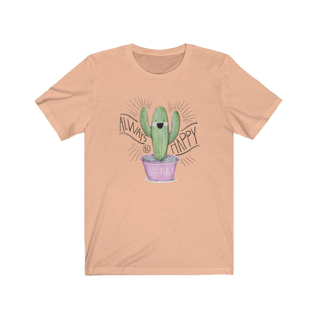 Always Happy Cactus - Women's Jersey Short Sleeve Tee