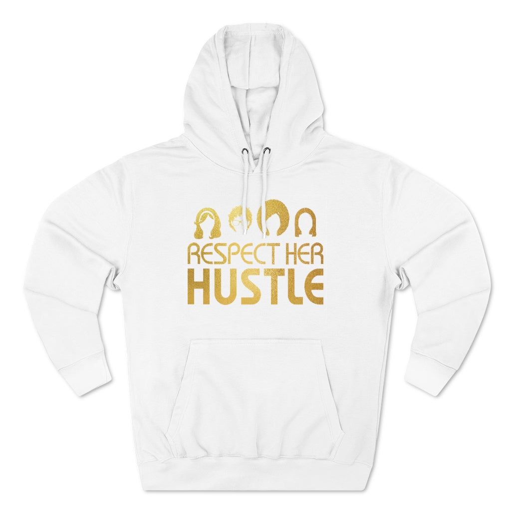 Unisex Hooded Sweatshirt - Respect Her Hustle 2.0
