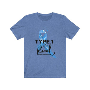 Type 1 Of A Kind: The Fight Against Diabetes - Men's Jersey Short Sleeve Tee