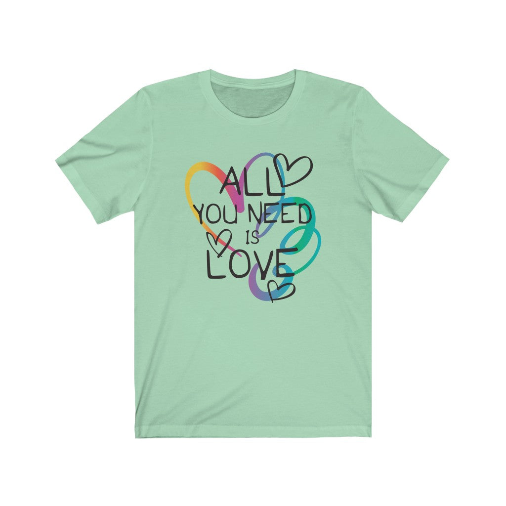 All You Need Is Love V.1 - Women's Jersey Short Sleeve Tee