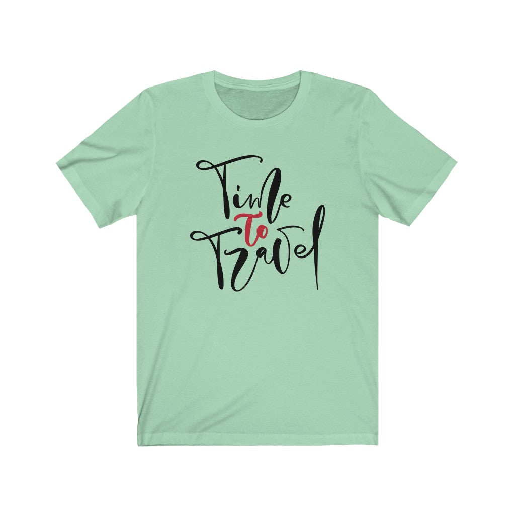 Time To Travel - Women's Jersey Short Sleeve Tee