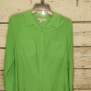 Primary Photo - BRAND: CALYPSO ST BARTH STYLE: TOP LONG SLEEVE COLOR: LIME GREEN SIZE: S SKU: 133-13316-113228