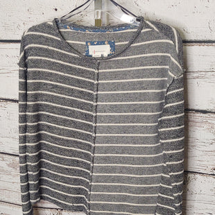 Primary Photo - BRAND: ANTHROPOLOGIE STYLE: TOP LONG SLEEVE COLOR: STRIPED SIZE: XS SKU: 133-13316-11484260% COTTON 27% POLYESTER 13% VISCOSE
