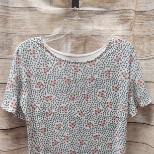 Primary Photo - BRAND: LOFT STYLE: TOP SHORT SLEEVE COLOR: FLORAL SIZE: S SKU: 133-13373-13232