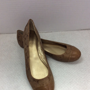 Primary Photo - BRAND: COACH O STYLE: SHOES FLATS COLOR: TAN SIZE: 9 SKU: 133-13316-112438