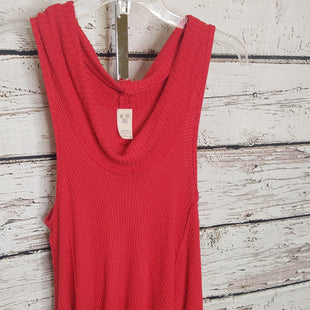 Primary Photo - BRAND: WE THE FREE STYLE: TOP SLEEVELESS COLOR: RED SIZE: S SKU: 133-13355-3559795% RAYON 5% SPANDEX