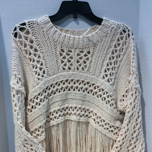 Primary Photo - BRAND: FREE PEOPLE STYLE: SWEATER HEAVYWEIGHT COLOR: CREAM SIZE: XS SKU: 133-13374-2274