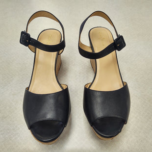 Primary Photo - BRAND: COLE-HAAN STYLE: SANDALS LOW COLOR: BLACK SIZE: 10 SKU: 133-13355-31428NEW NO TAGSCORK SOLE1 1/2 INCH PLATFORM 3 INCH HEEL