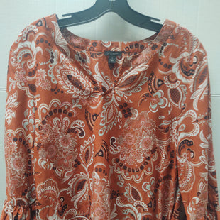 Primary Photo - BRAND: ANN TAYLOR STYLE: TOP LONG SLEEVE COLOR: RUST SIZE: L SKU: 133-13355-34317