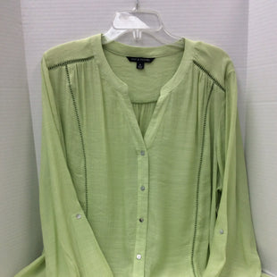 Primary Photo - BRAND: ZAC AND RACHEL STYLE: TOP LONG SLEEVE COLOR: LIME GREEN SIZE: XL SKU: 133-13374-1339