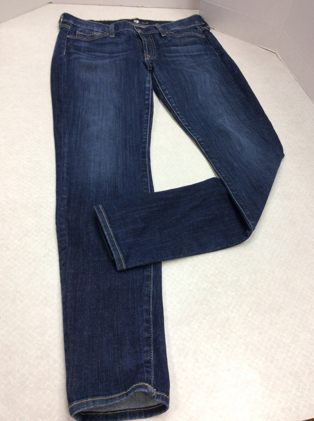 Primary Photo - BRAND: SEVEN FOR ALL MANKIND <BR>STYLE: JEANS DESIGNER <BR>COLOR: DENIM <BR>SIZE: 6 <BR>SKU: 133-13341-42734