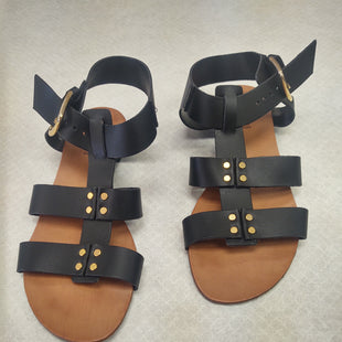 Primary Photo - BRAND: VICTOR STYLE: SANDALS FLAT COLOR: BLACK SIZE: 6 SKU: 133-13371-11844