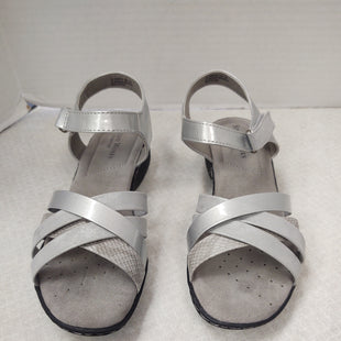 Primary Photo - BRAND: STUDIO WORKS STYLE: SANDALS FLAT COLOR: SILVER SIZE: 7 SKU: 133-13316-114549NEW NO TAGS