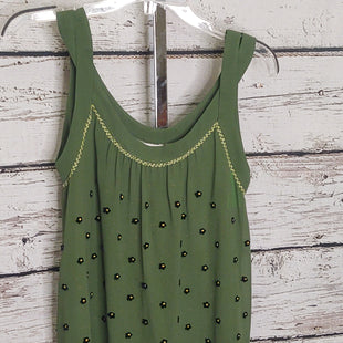 Primary Photo - BRAND: CMB STYLE: TOP SLEEVELESS COLOR: OLIVE SIZE: 0 OTHER INFO: 9 H15 SCL - SKU: 133-13350-42095. ANTHROPOLOGIE.