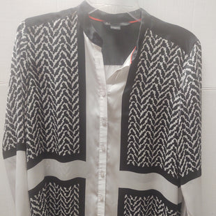 Primary Photo - BRAND: ARMANI EXCHANGE STYLE: TOP LONG SLEEVE COLOR: BLACK WHITE SIZE: M SKU: 133-13311-61705