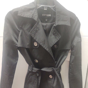 Primary Photo - BRAND: EXPRESS O STYLE: JACKET OUTDOOR COLOR: BLACK SIZE: XS SKU: 133-13371-13574