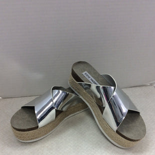 Primary Photo - BRAND: STEVE MADDEN STYLE: SHOES FLATS COLOR: SILVER SIZE: 6.5 SKU: 133-13374-2343