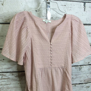 Primary Photo - BRAND: MADEWELL STYLE: TOP SHORT SLEEVE COLOR: DUSTY PINK SIZE: M SKU: 133-13355-35196
