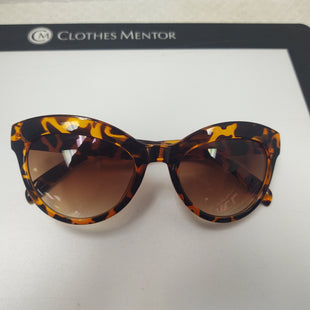 Primary Photo - BRAND: BETSEY JOHNSON STYLE: SUNGLASSES COLOR: ANIMAL PRINT SKU: 133-13344-36775