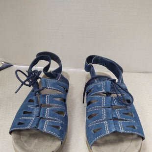 Primary Photo - BRAND: EARTH ORIGINS STYLE: SANDALS FLAT COLOR: BLUE SIZE: 8.5 OTHER INFO: LACE UP SKU: 133-13373-13874