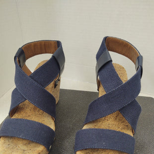 Primary Photo - BRAND: LUCKY BRAND STYLE: SANDALS HIGH COLOR: NAVY SIZE: 7 SKU: 133-13355-320603 INCH HEEL