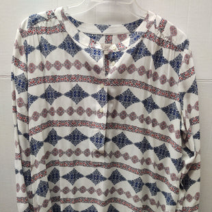 Primary Photo - BRAND: ANN TAYLOR LOFT STYLE: TOP LONG SLEEVE COLOR: MULTI SIZE: M SKU: 133-13316-112994