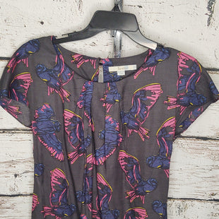 Primary Photo - BRAND: BODEN STYLE: TOP SLEEVELESS COLOR: CHARCOAL SIZE: S OTHER INFO: BIRD PRINT SKU: 133-13373-13262