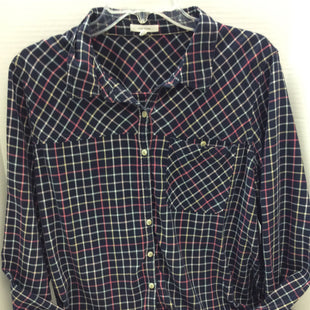 Primary Photo - BRAND: MAURICES STYLE: TOP LONG SLEEVE COLOR: PLAID SIZE: 2X SKU: 133-13377-999