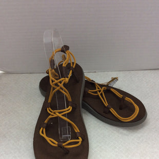 Primary Photo - BRAND: TEVA STYLE: SANDALS FLAT COLOR: BROWN SIZE: 10 OTHER INFO: NEW SKU: 133-13344-36882