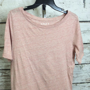 Primary Photo - BRAND: LOFT STYLE: TOP SHORT SLEEVE BASIC COLOR: PINK SIZE: M SKU: 133-13350-41555R