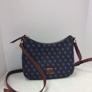 Primary Photo - BRAND: DOONEY AND BOURKE STYLE: HANDBAG DESIGNER COLOR: BLUE SIZE: SMALL SKU: 133-13341-44652AS IS SLIGHT STAINING ON SHOULDER STRAP AND SLIGHT WEAR ON ZIPPER PULL, PLEASE SEE PHOTOGRAPHS