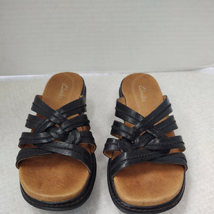 Primary Photo - BRAND: CLARKS STYLE: SANDALS FLAT COLOR: BLACK SIZE: 5.5 SKU: 133-13355-35287