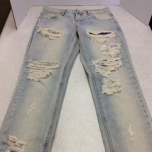 Primary Photo - BRAND:  CMB STYLE: JEANS COLOR: DENIM SIZE: 0 OTHER INFO: ONE X ONE TEASPOON - AWESOME BAGGIES SKU: 133-13350-39757DELIGHTFULLY DISTRESSED AND LIGHT AND BRIGHT WASH