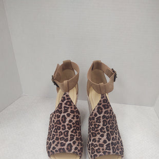 Primary Photo - BRAND: CITY CLASSIFIED STYLE: SANDALS HIGH COLOR: ANIMAL PRINT SIZE: 10 SKU: 133-13316-1059563 1/2 INCH WEDGE