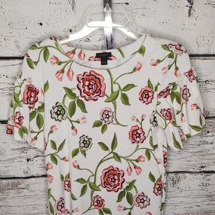Primary Photo - BRAND: ANN TAYLOR STYLE: TOP SHORT SLEEVE COLOR: FLORAL SIZE: S SKU: 133-13355-34917
