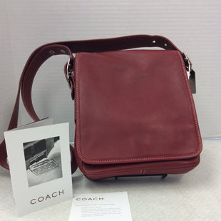 Primary Photo - BRAND: COACH O STYLE: HANDBAG LEATHER COLOR: RED SIZE: MEDIUM SKU: 133-13355-34567