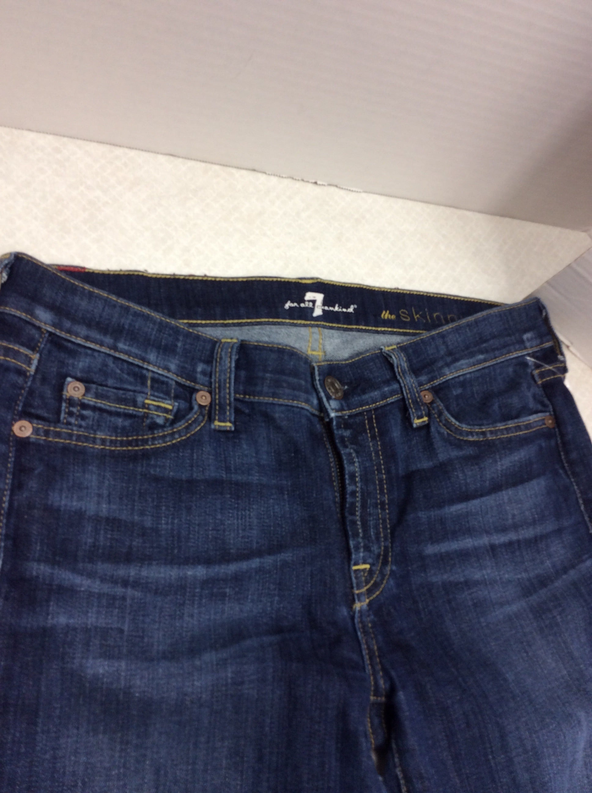 Photo #1 - BRAND: SEVEN FOR ALL MANKIND <BR>STYLE: JEANS DESIGNER <BR>COLOR: DENIM <BR>SIZE: 6 <BR>SKU: 133-13341-42734