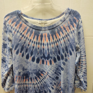 Primary Photo - BRAND: CHRISTOPHER AND BANKS STYLE: TOP LONG SLEEVE COLOR: TIE DYE SIZE: PETITE LARGE SKU: 133-13316-112928