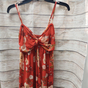 Primary Photo - BRAND: FREE PEOPLE STYLE: TOP SLEEVELESS COLOR: RED SIZE: M SKU: 133-13316-112735