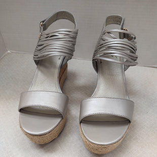 Primary Photo - BRAND:    CLOTHES MENTOR STYLE: SANDALS HIGH COLOR: SILVER SIZE: 8.5 OTHER INFO: LATIGO - SKU: 133-13374-570