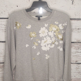 Primary Photo - BRAND: J CREW O STYLE: SWEATSHIRT HOODIE COLOR: GREY SIZE: M SKU: 133-13373-12720