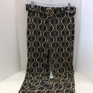 Primary Photo - BRAND: ZARA BASIC STYLE: PANTS COLOR: BLACK SIZE: XS SKU: 133-13341-41436WHAT A FUN MODERN TWIST ON A CLASSIC EQUESTRIAN PRINT PANT! SO ON TREND!