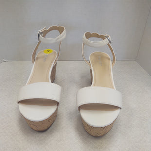 Primary Photo - BRAND: NINE WEST SHOES STYLE: SANDALS HIGH COLOR: WHITE SIZE: 9 SKU: 133-13316-1062201 1/2 INCH PLATFORM 3 INCH HEEL